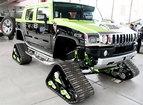 Tracked Hummer