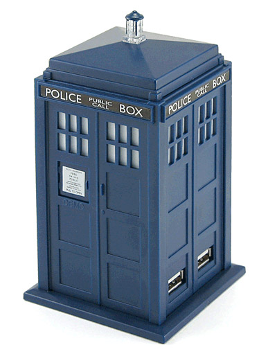 Dr. Who Tardis USB Hub