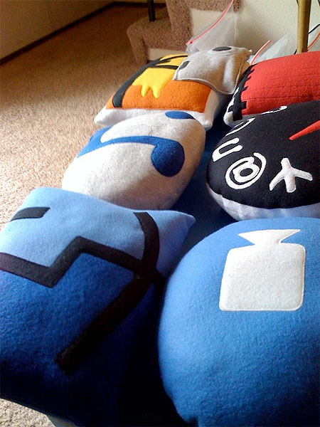 Throwboy Pillows