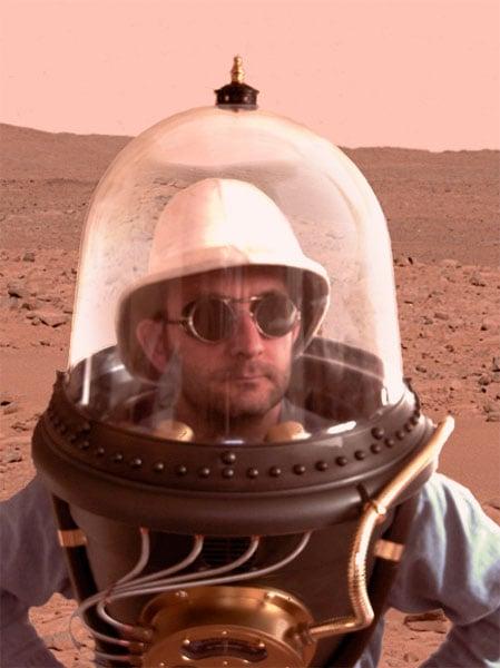 Steampunk Spacesuit