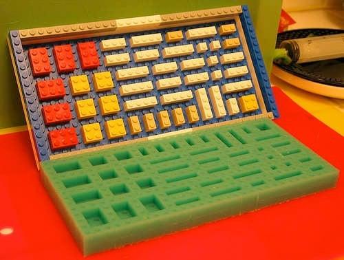 Gummy LEGO Bricks
