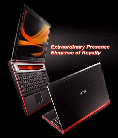 MSI GX630 Gaming Laptop