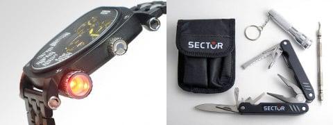 Sector Compass Watch