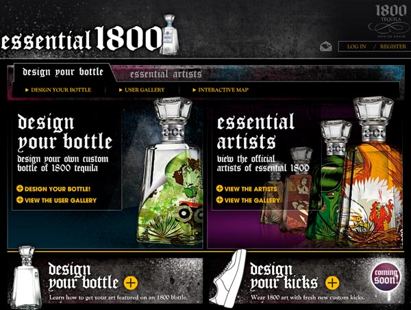 1800 Tequila Essential Artists