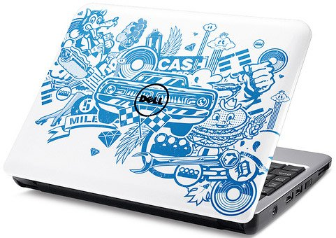 Dell Mini 9/12 Artwork