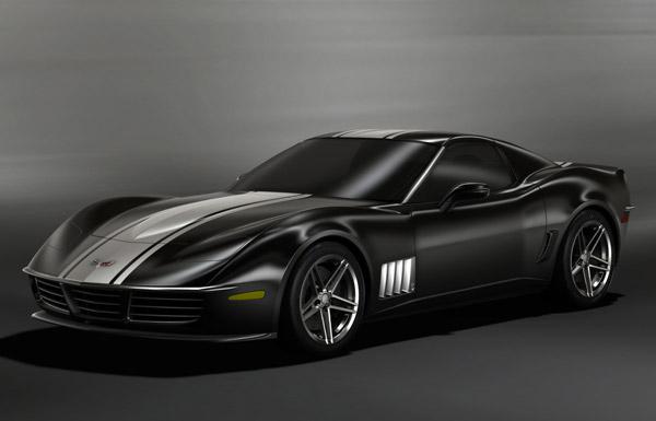C3R Retro Corvette