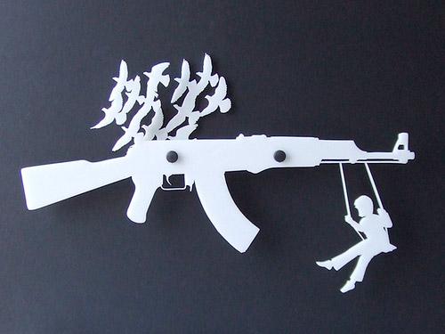 Gun Rack Organizer
