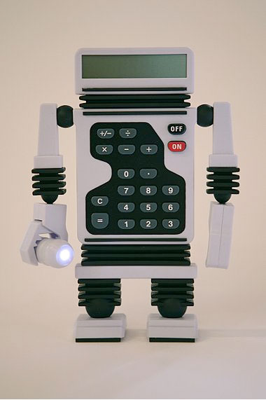 My Robot Calculator