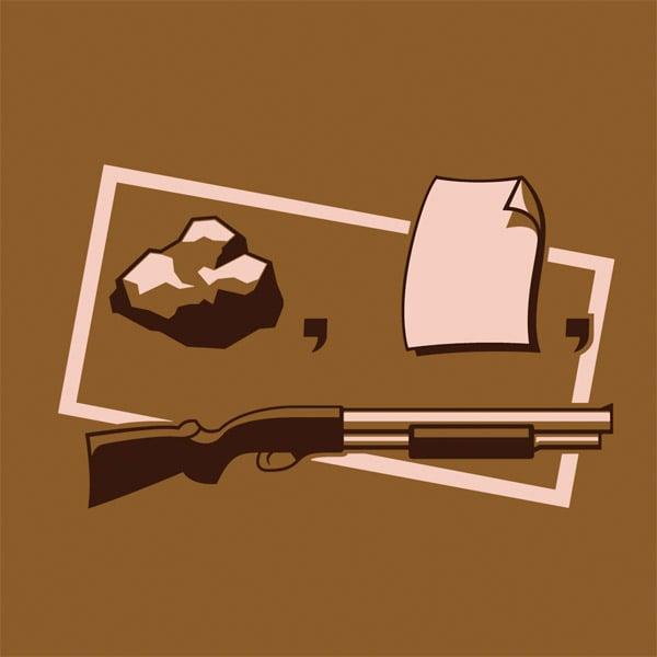 Rock, Paper, Shotgun Tee