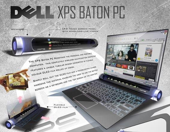Concept: Dell XPS Baton