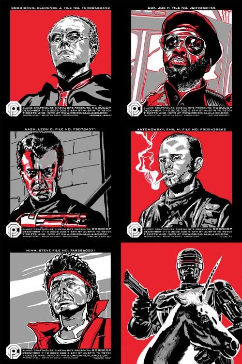 Robocop Portraits