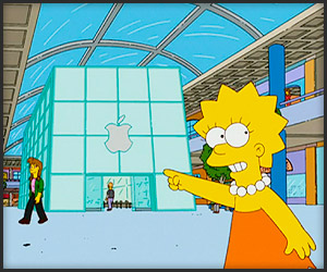The Simpsons x Apple