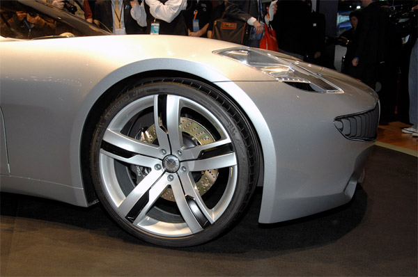 Fisker Karma Production Pics