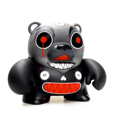 Dalek Black Teddy Troop