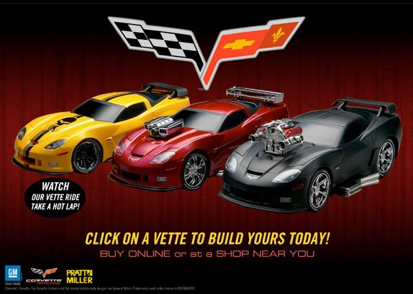 Ridemakerz C6RS Corvettes