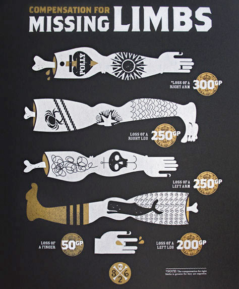 Missing Limbs Poster
