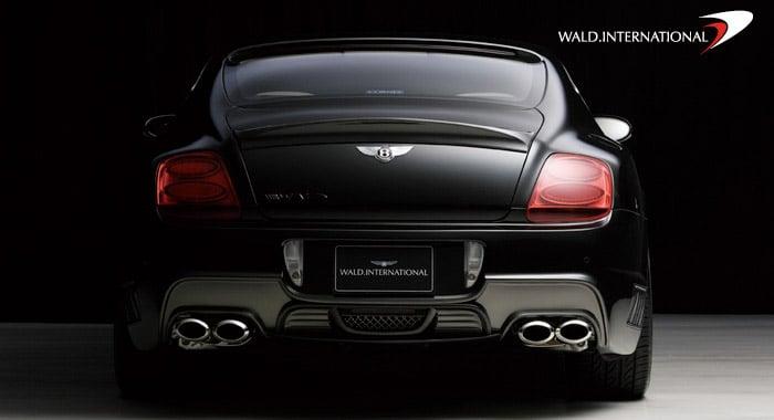 Bentley Black Bison