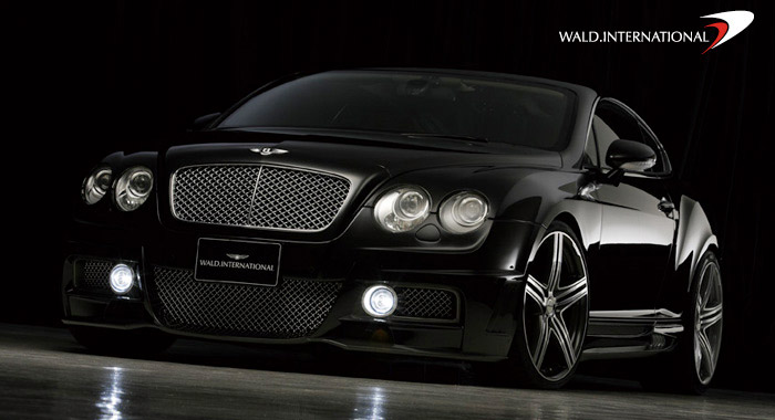Bentley Black Bison