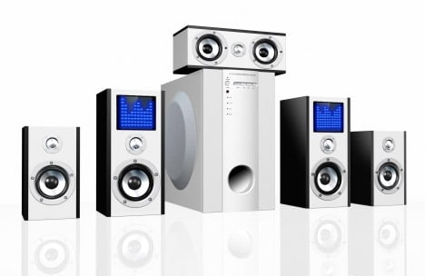 BluTiger 5.1 Speakers