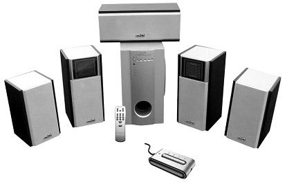 BluTiger 5.1 Speakers