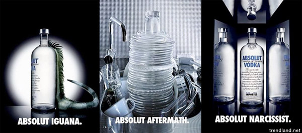 Absolut Vodka Ads