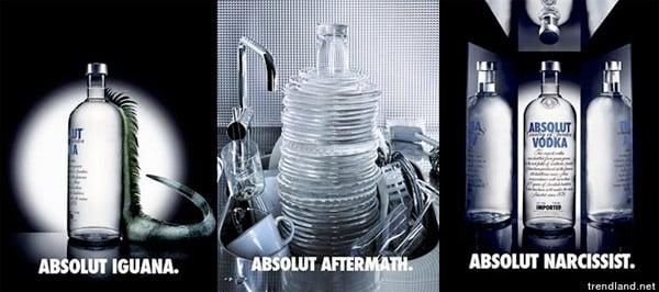Absolut Vodka Ads