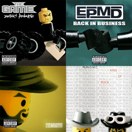 Lego Hip Hop Covers