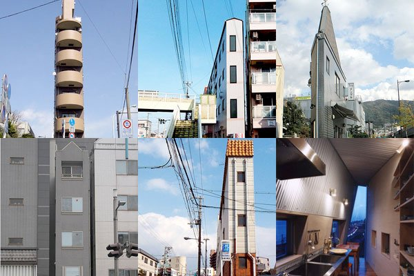 World's Slimmest Houses