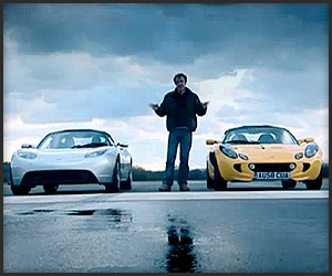 Top Gear: Tesla vs. Elise