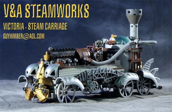 Steampunk Lego Robots