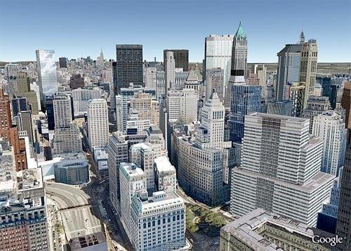 Google Earth: NYC