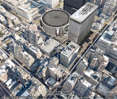 Google Earth: NYC
