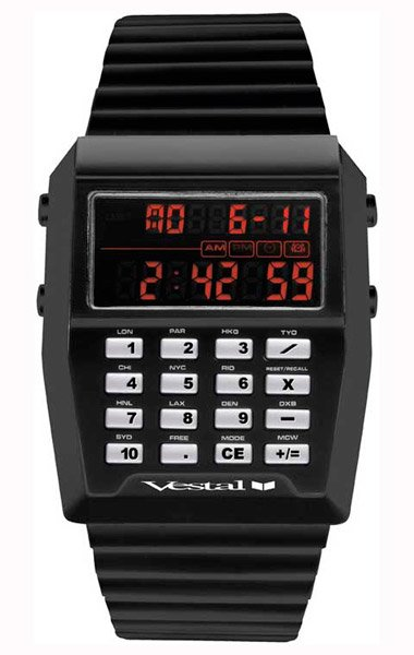 Vestal Calcutron Watch