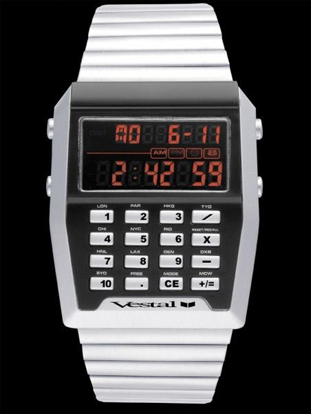 Vestal Calcutron Watch