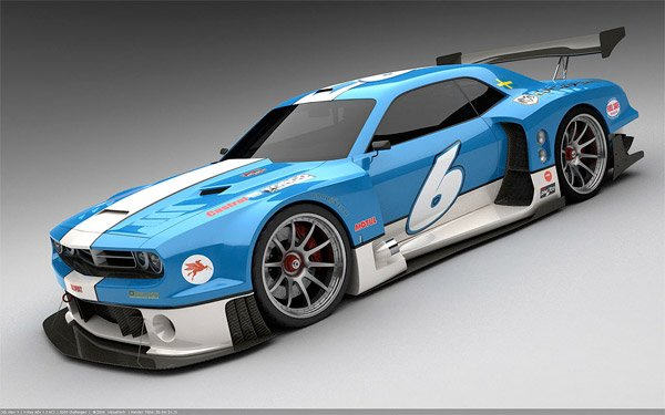 LeMans Dodge Challenger