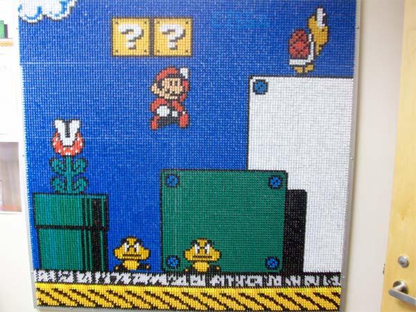 Pushpin Mario