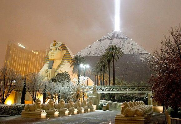 Photos: Las Vegas in Snow