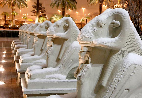Photos: Las Vegas in Snow