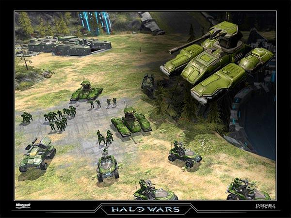 Halo Wars Units