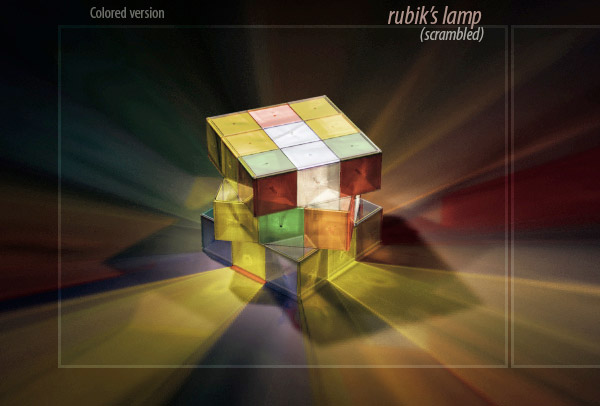 Rubik's Lamp