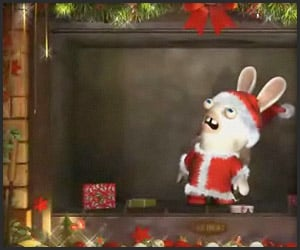 Raving Rabbids Xmas