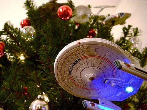 Starship Xmas Tree