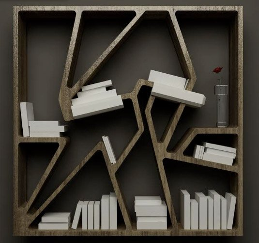 Graffititek Bookshelf