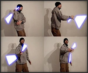 Lightsaber Nunchucks