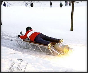 Rocket Powered Sled