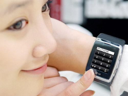 LG Video Wristphone