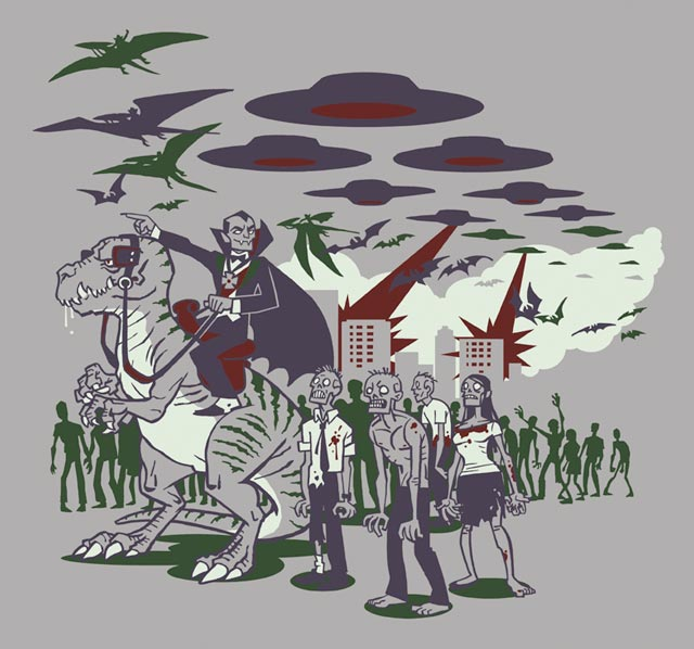 How The World Ends Tee