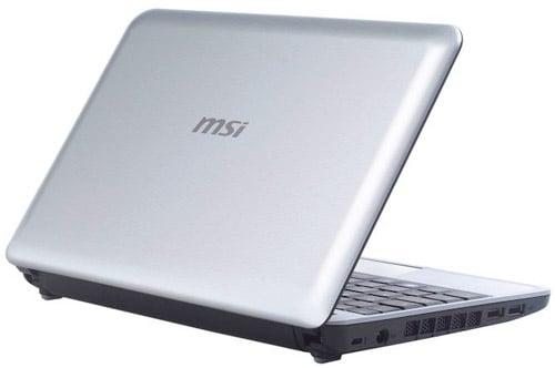 MSI U115 Hybrid Netbook