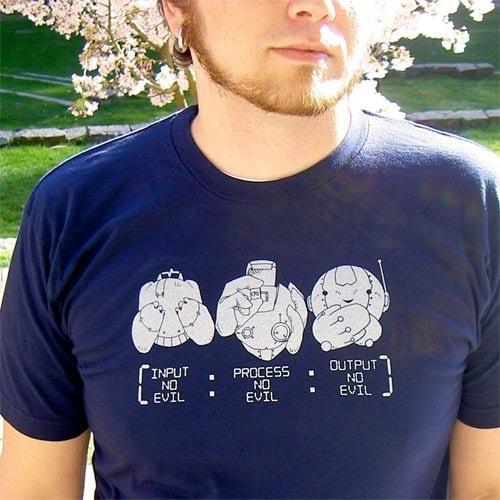 Wise Robots T-shirt