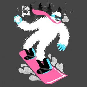 Snurfing Iceman Tee